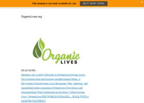 organiclives.org