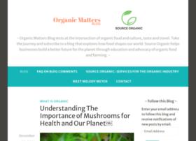 organicmattersblog.com