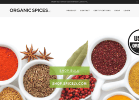 organicspices.com