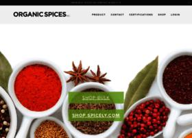 organicspices.com