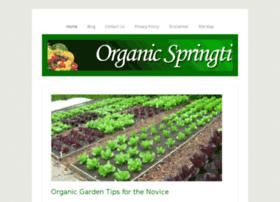 organicspringtime.com