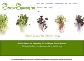 organicsproutingseeds.com