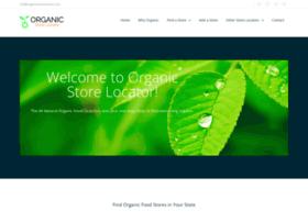 organicstorelocator.com