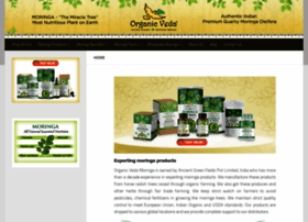 organicvedamoringa.com