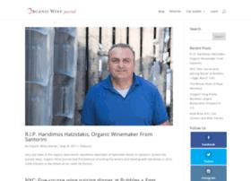 organicwinejournal.com