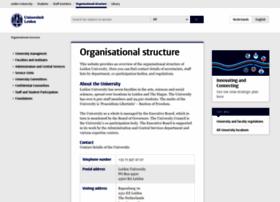 organisation.leiden.edu