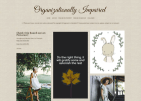 organizationallyimpaired.tumblr.com