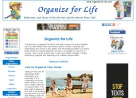 organize-for-life.com