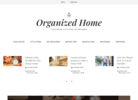 organizedhome.com