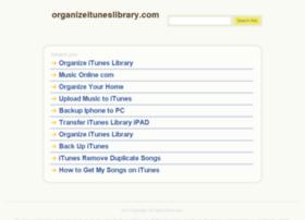 organizeituneslibrary.com