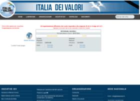 organizzazione.italiadeivalori.it
