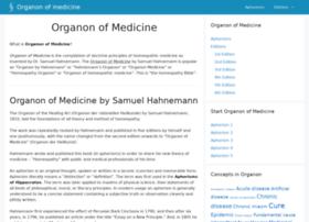 organonofmedicine.com
