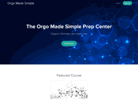 orgo-made-simple.usefedora.com