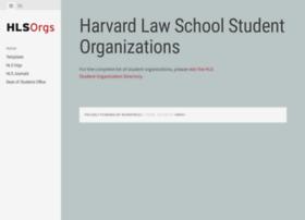 orgs.law.harvard.edu
