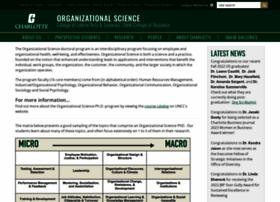 orgscience.uncc.edu