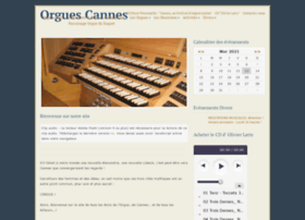 orgues-cannes.org