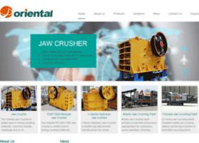 orientaljawcrusher.com