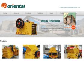 orientalrockcrusher.com