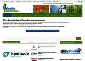 orientation-environnement.com