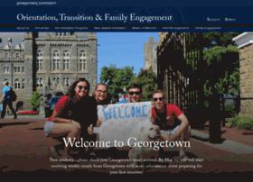 orientation.georgetown.edu