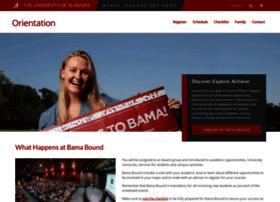 orientation.ua.edu