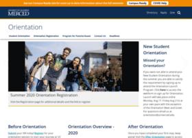 orientation.ucmerced.edu
