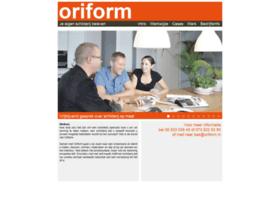 oriform.nl