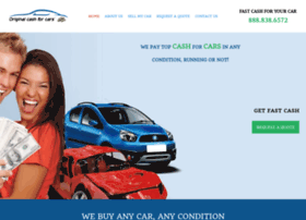 originalcashforcars.com