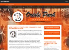 orioleparkbaseball.org