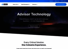 orionadvisor.com