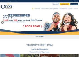 orionhotels.co.za