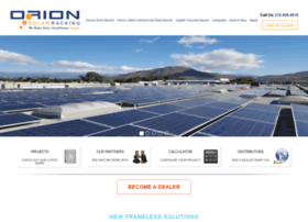 orionsolarracking.com