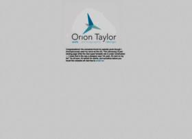 oriontaylor.com