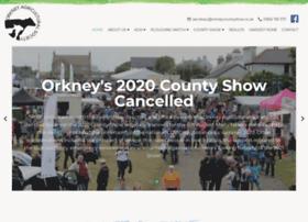 orkneycountyshow.co.uk