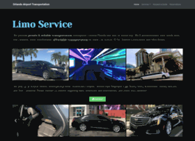 orlandoairporttransportation.net