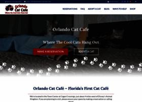 orlandocatcafe.com