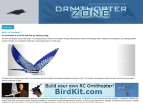 ornithopter.org