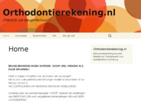 orthodontierekening.nl