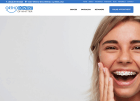 orthodontistwhittier.com