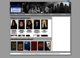 orthodoxresearchinstitute.org