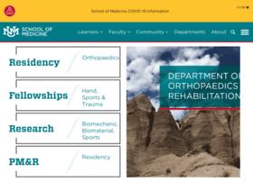 orthopaedics.unm.edu