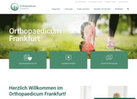 orthopaedicum-frankfurt.de