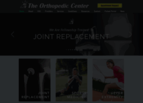 orthopediccenter.net