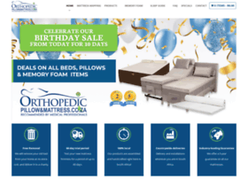 orthopedicpillowandmattress.co.za