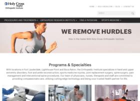 orthopedics.holy-cross.com