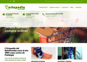 ortopediaelvendrell.com