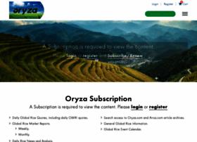 oryza.com
