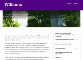 osap.williams.edu