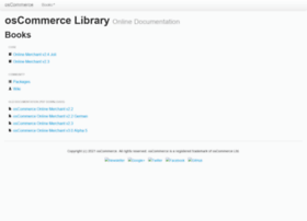 oscommerce.info