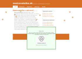 osetrovatelka.sk